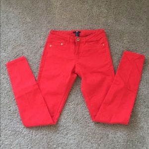 H&M Red Jeans